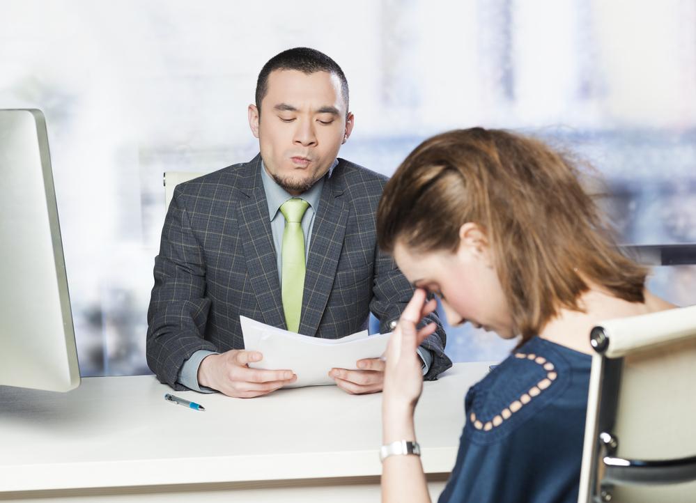 Bad job interview | Techrocks